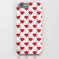 iPhone & iPod Case featuring Hearts Galore! by All Is One
