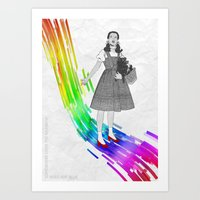 Somewhere Over The Rainb… Art Print