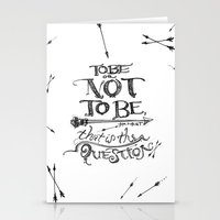 To Be Or Not To Be - Ham… Stationery Cards