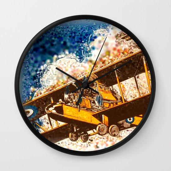 Wings Aloft Wall Clock