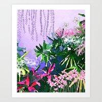 Singapore Summer Art Print