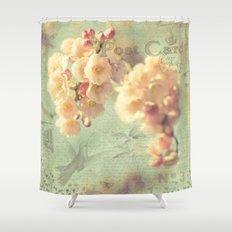 Postcard Shower Curtain
