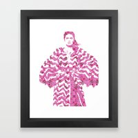 Chevron: Fashion Framed Art Print