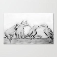 The Subterfuge Canvas Print