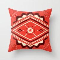 The Indian EYE Throw Pillow