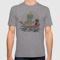 Two By Sea Mens Fitted Tee Athletic Grey SMALL
