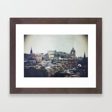 scottish nostalgia Framed Art Print