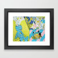 Mental Health Framed Art Print