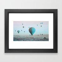 Capadoccia Framed Art Print