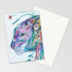 Tiger in the Garden Stationery Cards