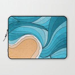 Laptop Sleeve - Beach Tide -  Steve Wade ( Swade)