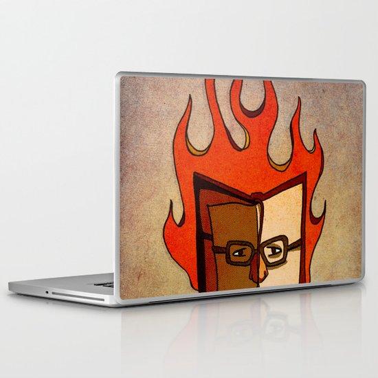 Prophets of Fiction - Ray Bradbury /Fahrenheit 451 Laptop & iPad Skin