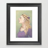 Maiden Framed Art Print