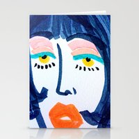 Mod Girl Stationery Cards