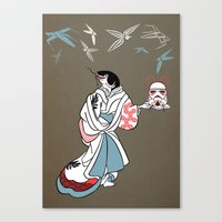 Catfished Canvas Print