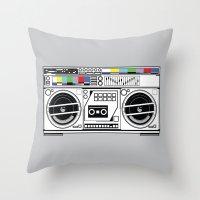 1 kHz #5 Throw Pillow