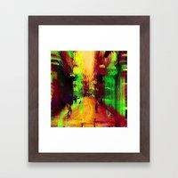 Else's sup cup up down else low law else run some. Framed Art Print
