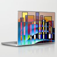 seattle Laptop & iPad Skins featuring Seattle by Kristine Rae Hanning