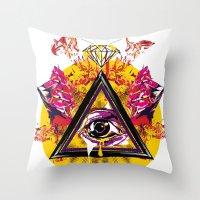 Mcnfm_zero Três Throw Pillow