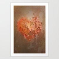 Wounds Art Print