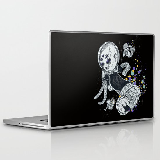 SKATE INVADERS Laptop & iPad Skin