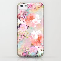 iPhone 5c Cases featuring Love of a Flower by Girly Trend