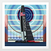 Never Give Up ! Oracle T… Art Print