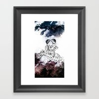 Knife Bearing Diamond Th… Framed Art Print