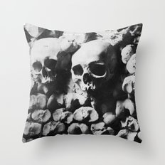 Catacombes Throw Pillow