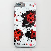 iPhone & iPod Case featuring Splattered bugs by Condor