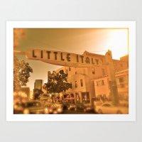 Little Italy Art Print