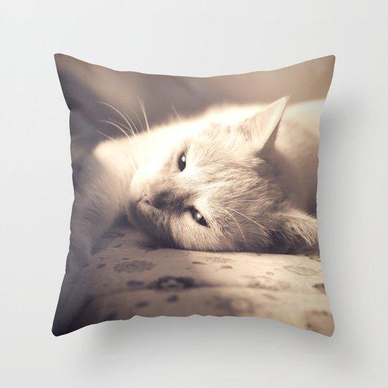 Maia Modern Pillows : Maia Throw Pillow by Michele