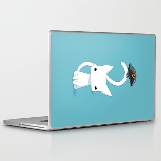 Cat and Raven Laptop & iPad Skin