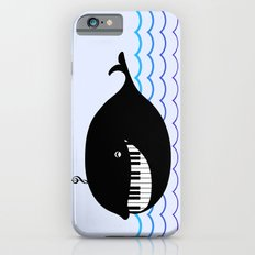 whale  (water proof piano!) Slim Case iPhone 6s