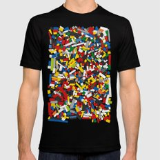 The Lego Movie SMALL Mens Fitted Tee Black
