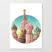 Saint Basil's Cathedral Canvas Print
