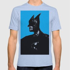 Dark Knight Mens Fitted Tee Athletic Blue SMALL