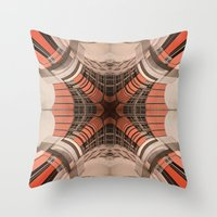 Building Abstraction II Throw Pillow