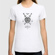 Legend Of Zelda - The Hy… Womens Fitted Tee Ash Grey SMALL
