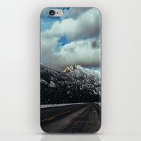 Driving in the North Cascades iPhone & iPod Skin