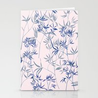 Exotic Blue Stationery Cards