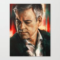 Greg Lestrade Canvas Print