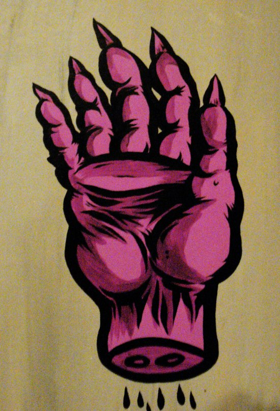 the hand of Zeypheros Art Print