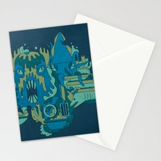 Deep Blue Sea Stationery Cards