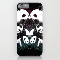 PANDA COLLIDE iPhone 6 Slim Case
