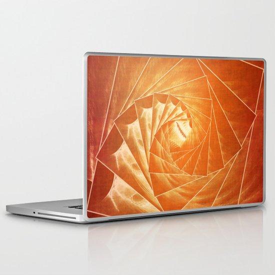 The Burning Eye Sees Spiral Laptop & iPad Skin