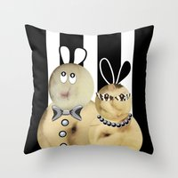 couple3 Throw Pillow