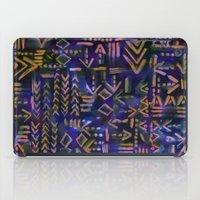 Tapa Tribal Aura iPad Case