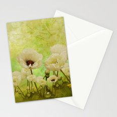 White Poppies Stationery Cards