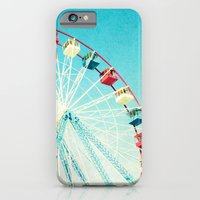 iPhone & iPod Case featuring Ferris Wheel by Mina Teslaru